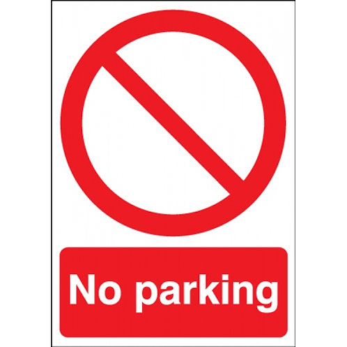 No Parking Sign/Sticker