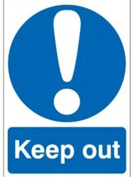 Keep out Sign/Sticker
