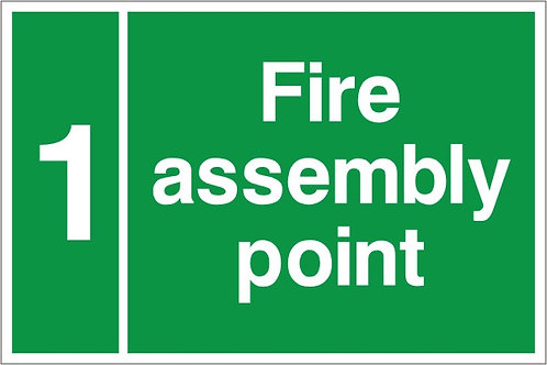 Fire Assembly Point - Number