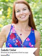 Isabelle Dufour (directrice du programme d'éveil au yoga)