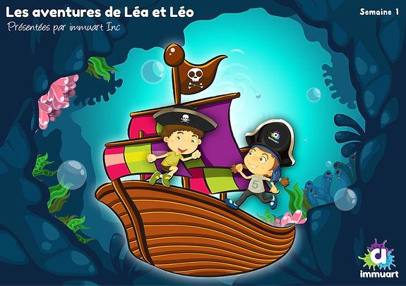 Immuart inc Léa et Léo