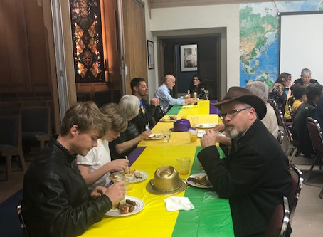 Shrove Tuesday Pancake Dinner Pictures