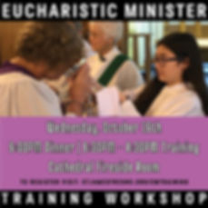 Announcement For Eucharist Minister Trai