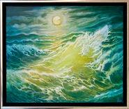 Stormwave in the Moonlight