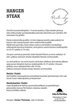 Hanger Steak - Angus rotukarja