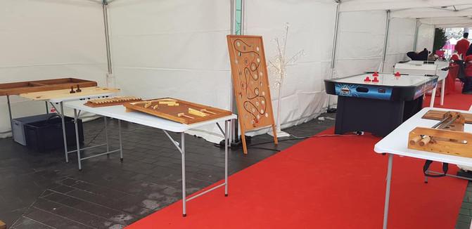Jeux en bois - Photo d'ensemble