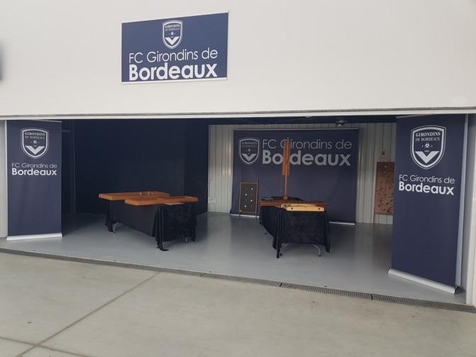 Jeux en bois aux Girondins de Bordeaux
