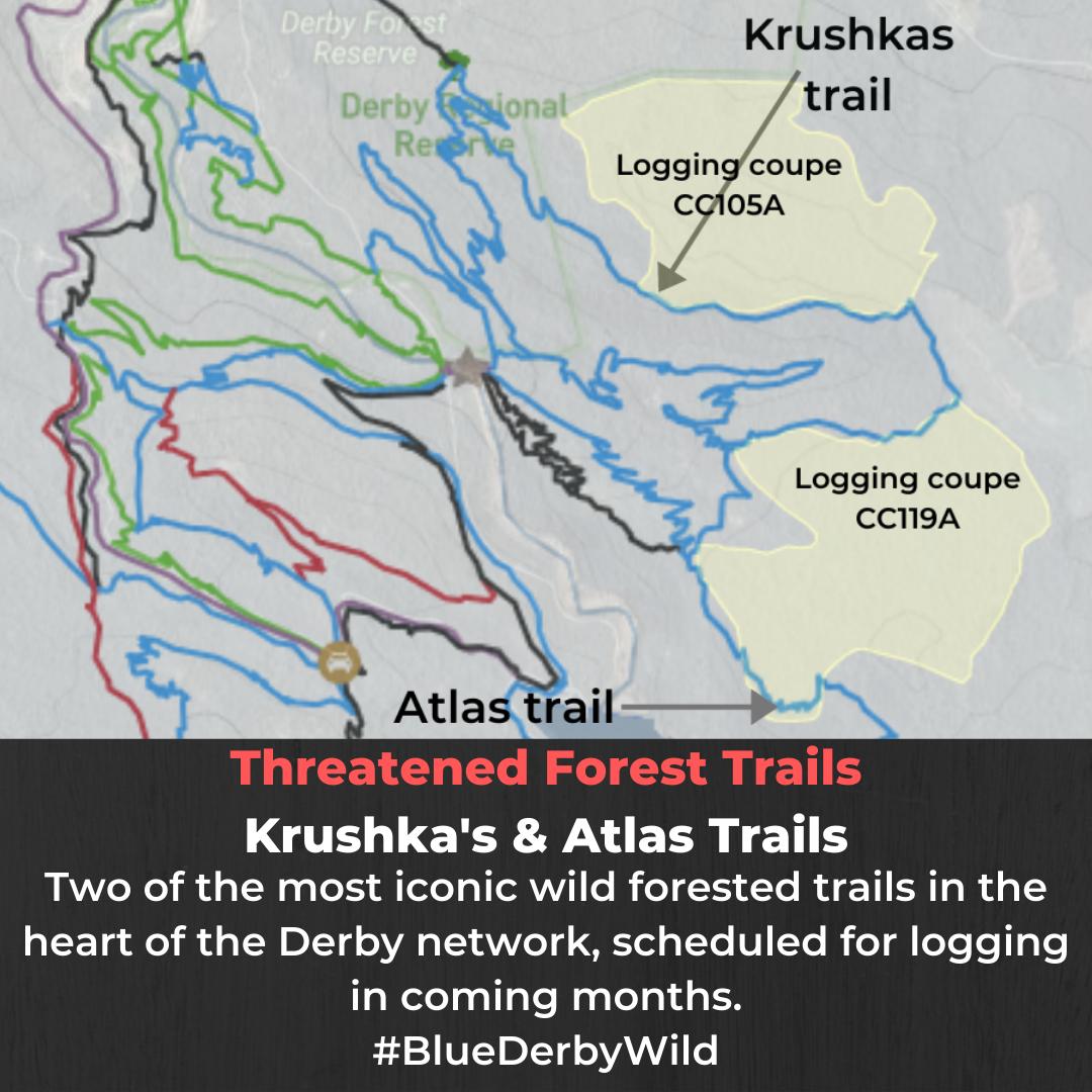 Logging Krushka's & Atlas