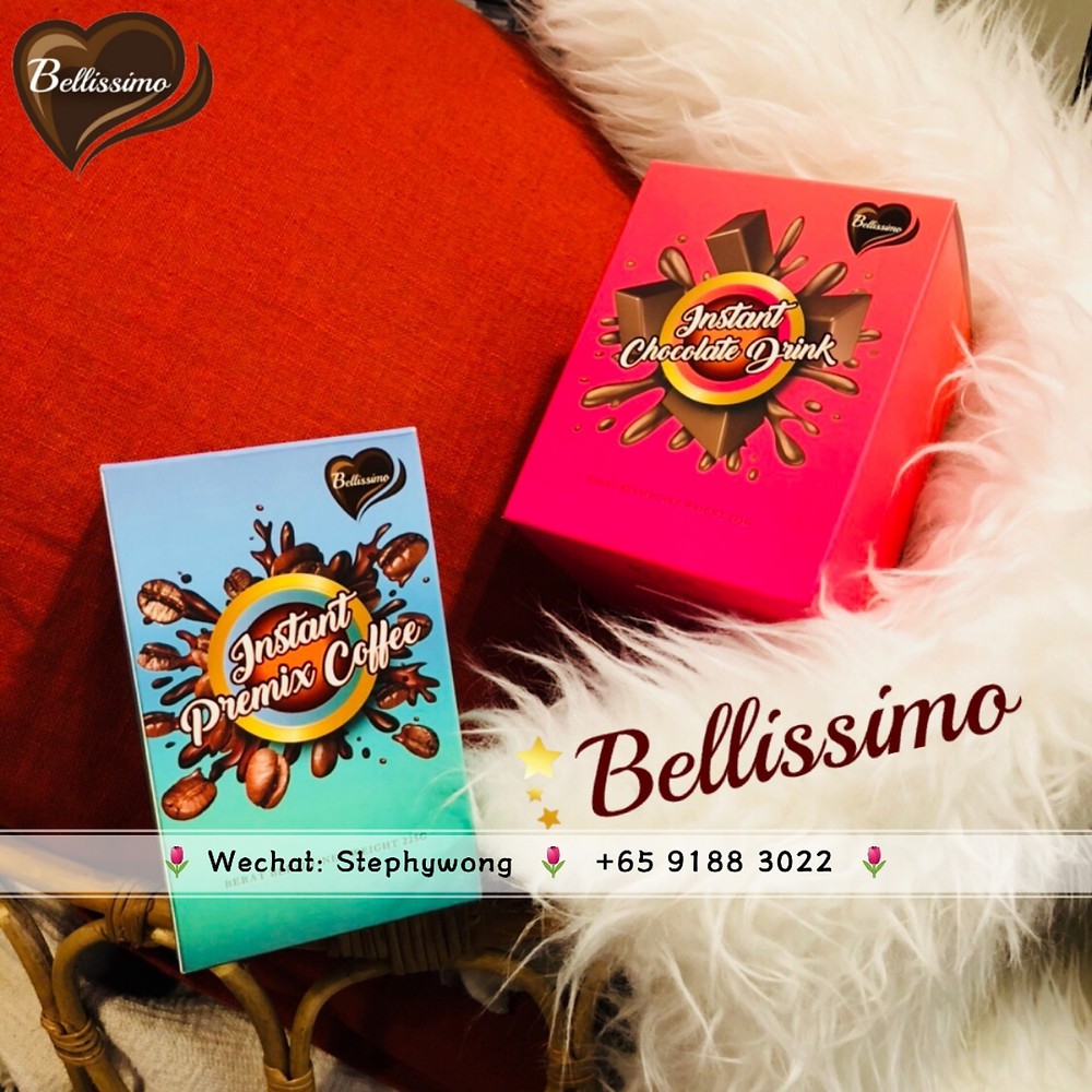 Bellissimo Instant Chocolate Drink & Premix Coffee