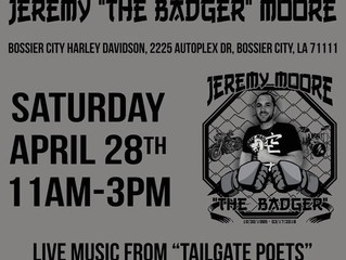 Free Fight Day to benefit the Jeremy Moore Family