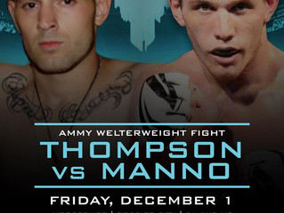Thompson vs Manno at Rite of Passage 2