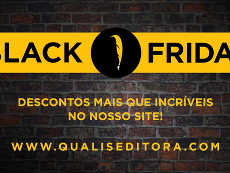 Black Friday na Loja da Qualis!