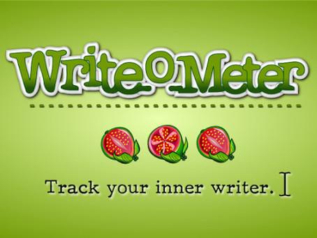 Um App para Escritores - Writeometer