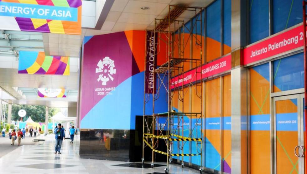 Asian Games 2018 - GBK Beautification JCC