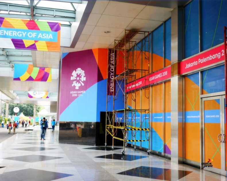 Asian Games 2018 GBK Beautification - JCC by Quickprint