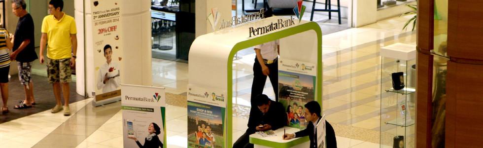 Booth Permata Bank