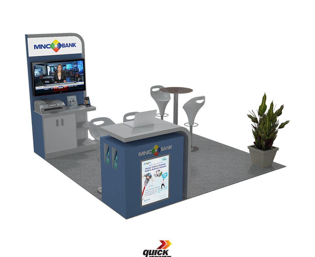 MNC Bank Booth