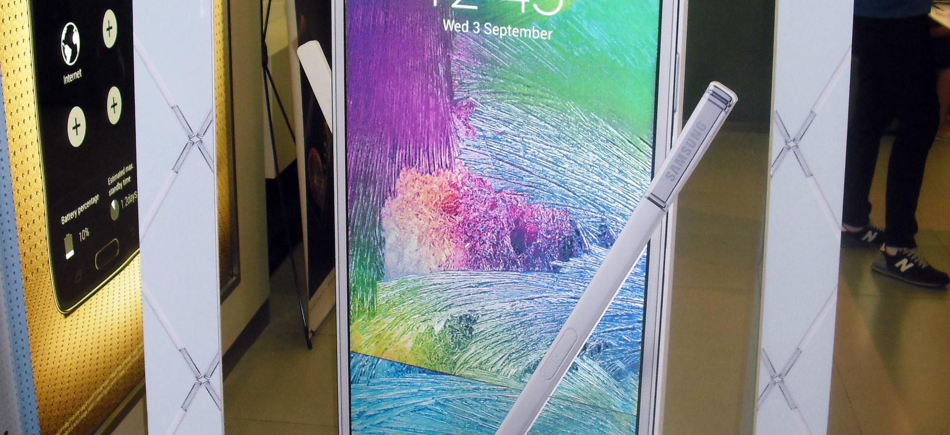 POP FOamboard Display - Samsung Galaxy Note 4
