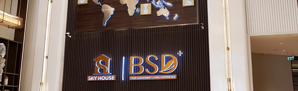 BSD Sky House Signage