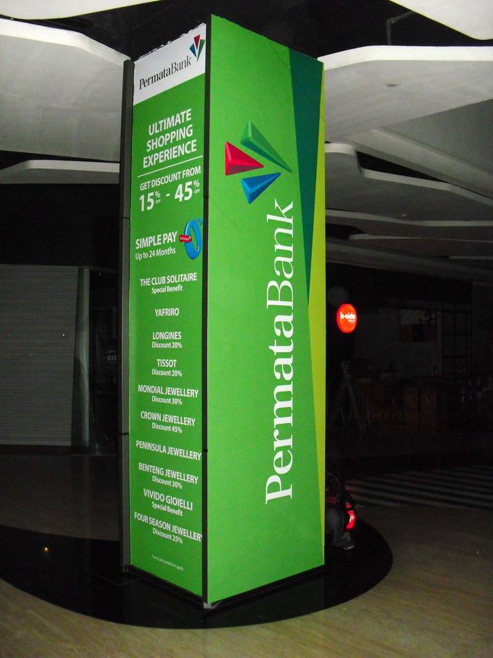 Pillar Branding - Permata Bank by Quickprint