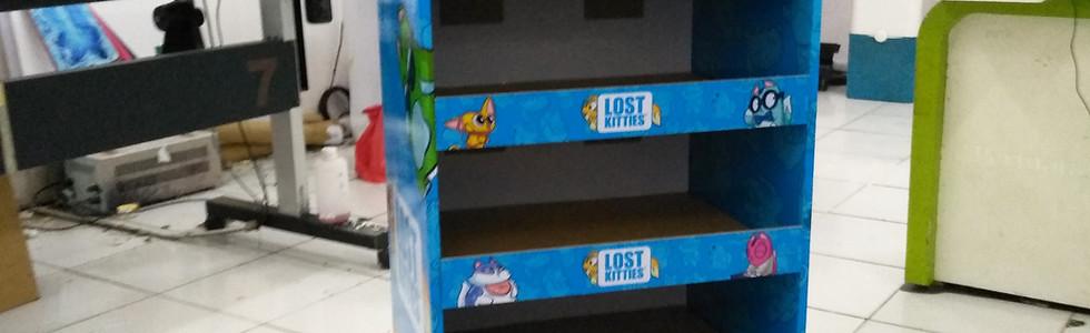 Cardboard Display - Lost Kittens