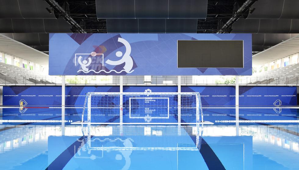 Asian Games 2018 - GBK Beautification Aquatic Centre