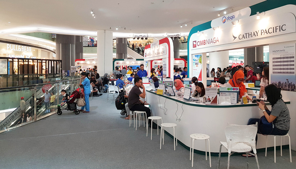 Cathay Pacific Travel Fair 2018 Booth