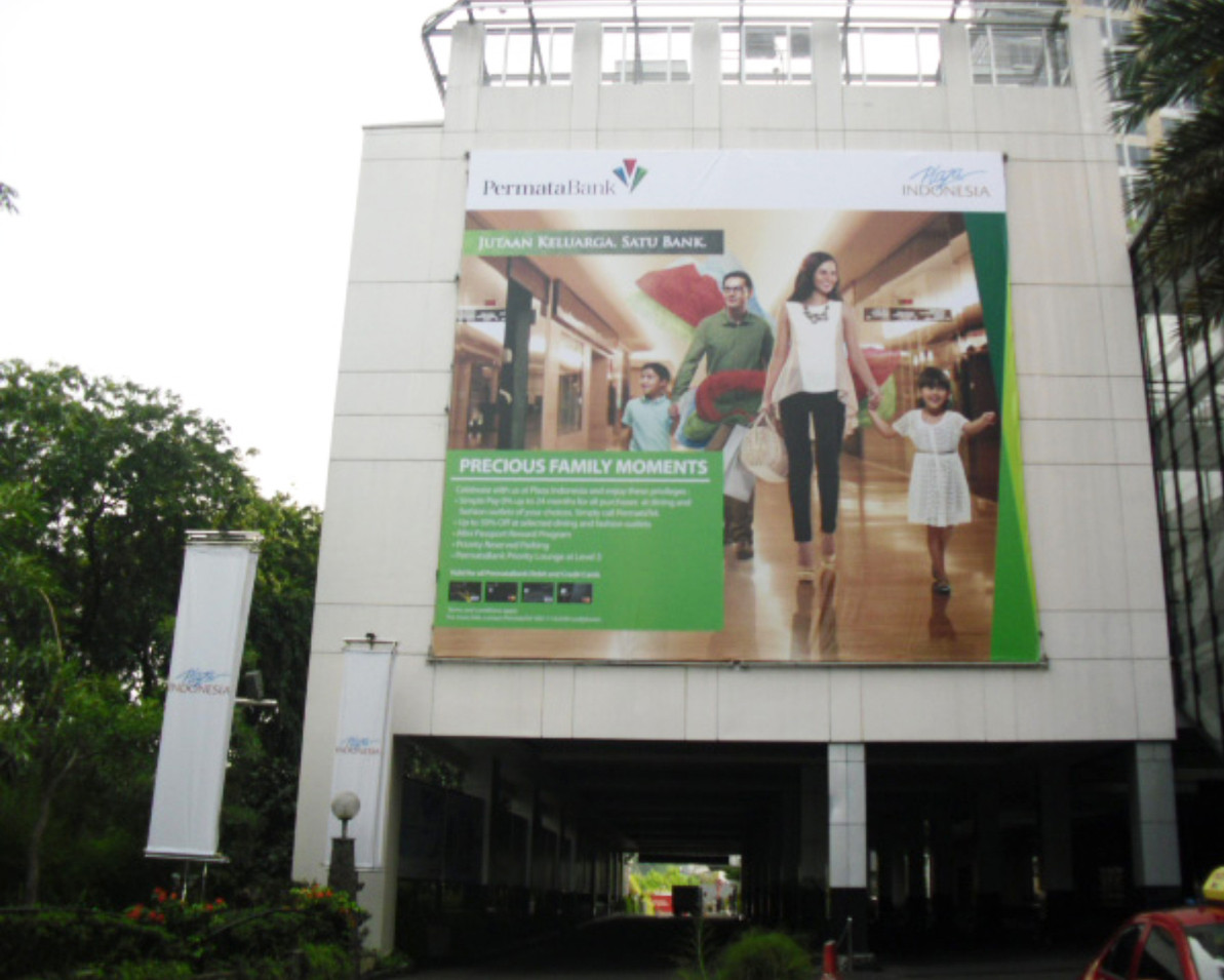 Corporate Branding - Permata Bank - Giant Banner by Quickprint