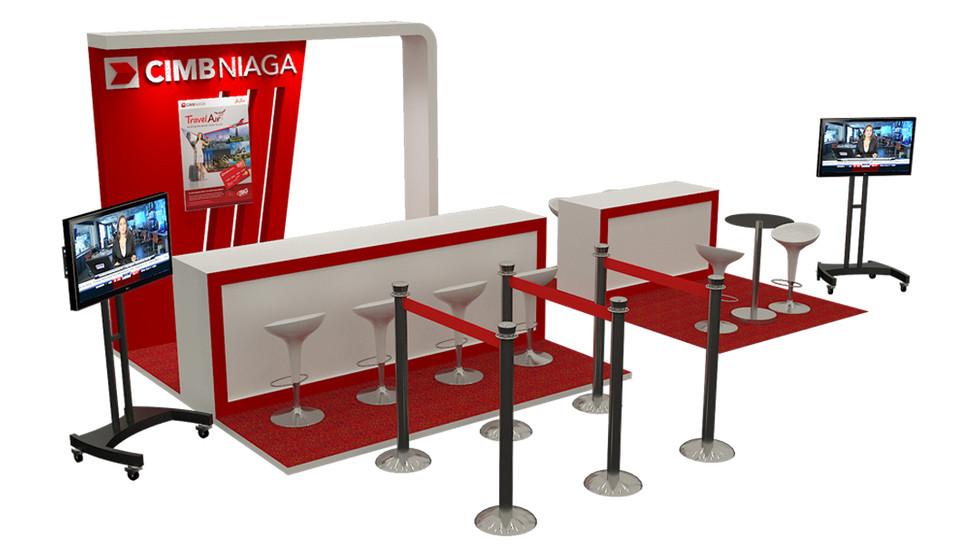 CIMB Niaga Booth