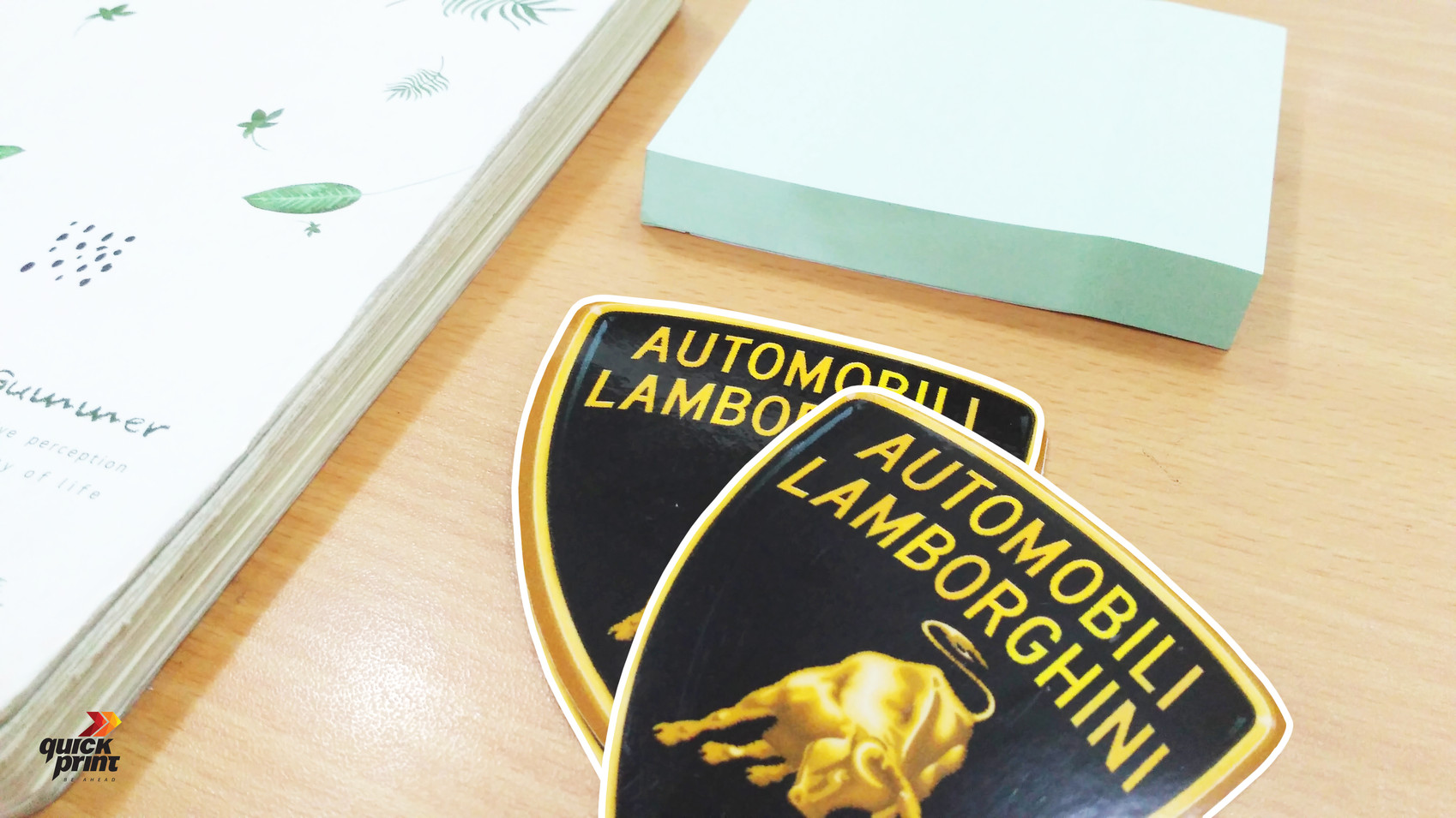 Vinyl Sticker - Lamborghini by Quickprint