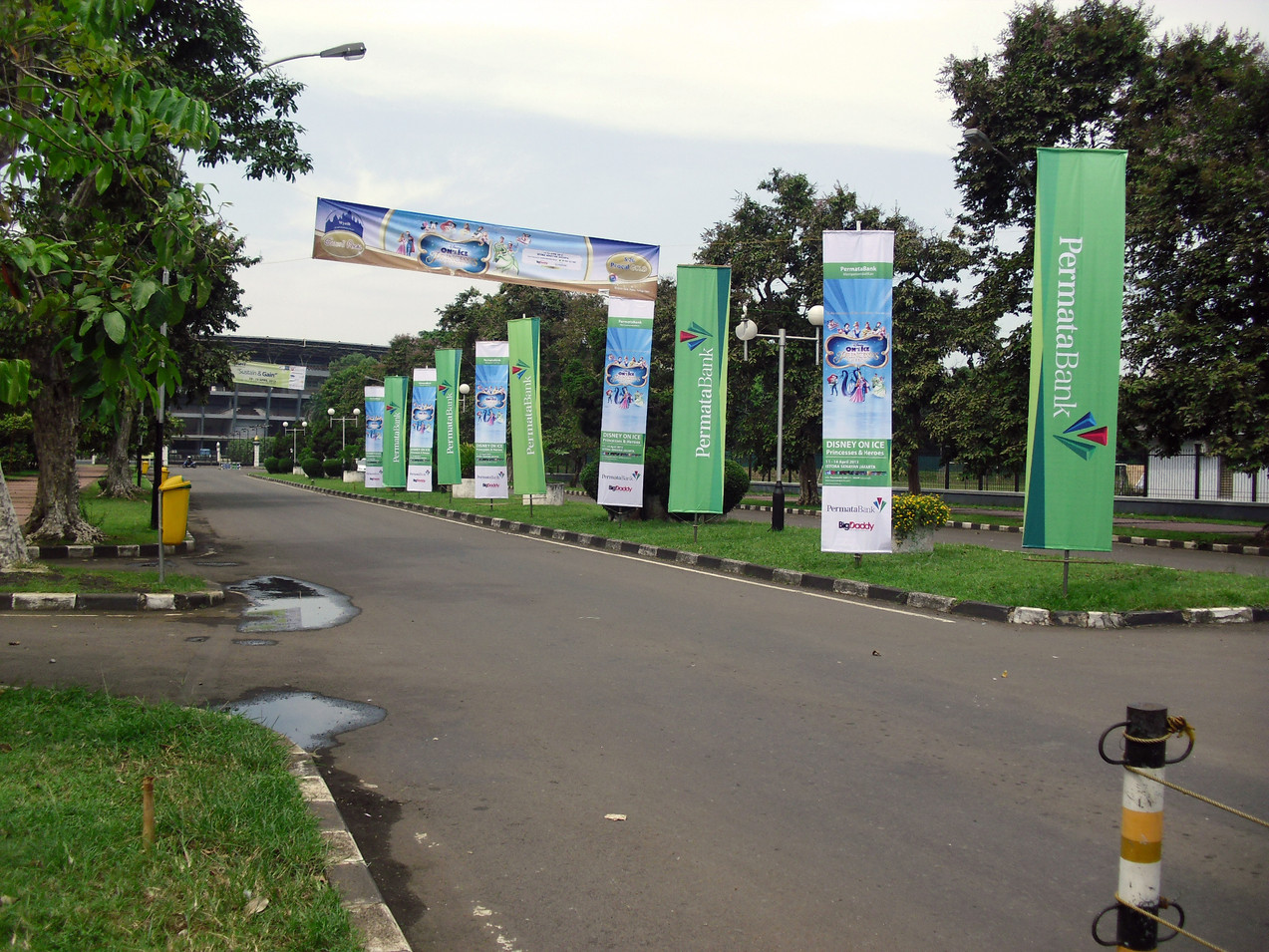 Street Banners - Permata Bank by Quickprint
