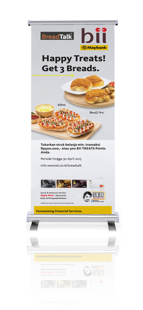 Roll Up Banner - BII by Quickprint