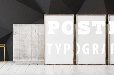 Memahami Poster Tipografi dalam 3 Langkah