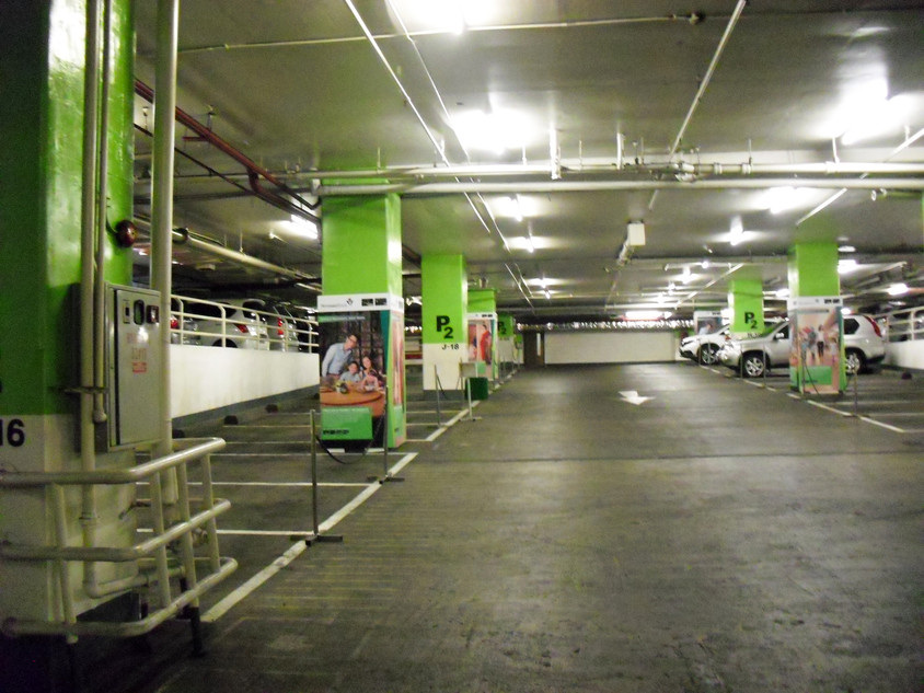 Parking Lot Branding - Permata Bank by Quickprint