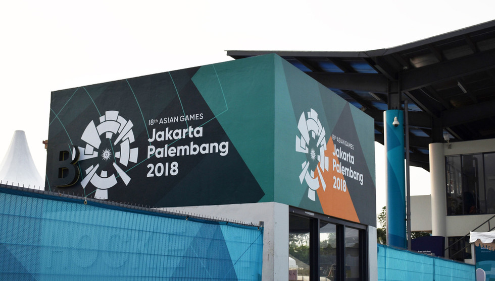 Asian Games 2018 - GBK Beautification Football Field