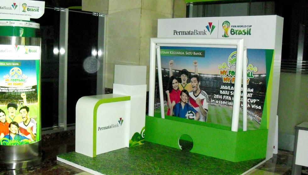 Permata Bank Booth