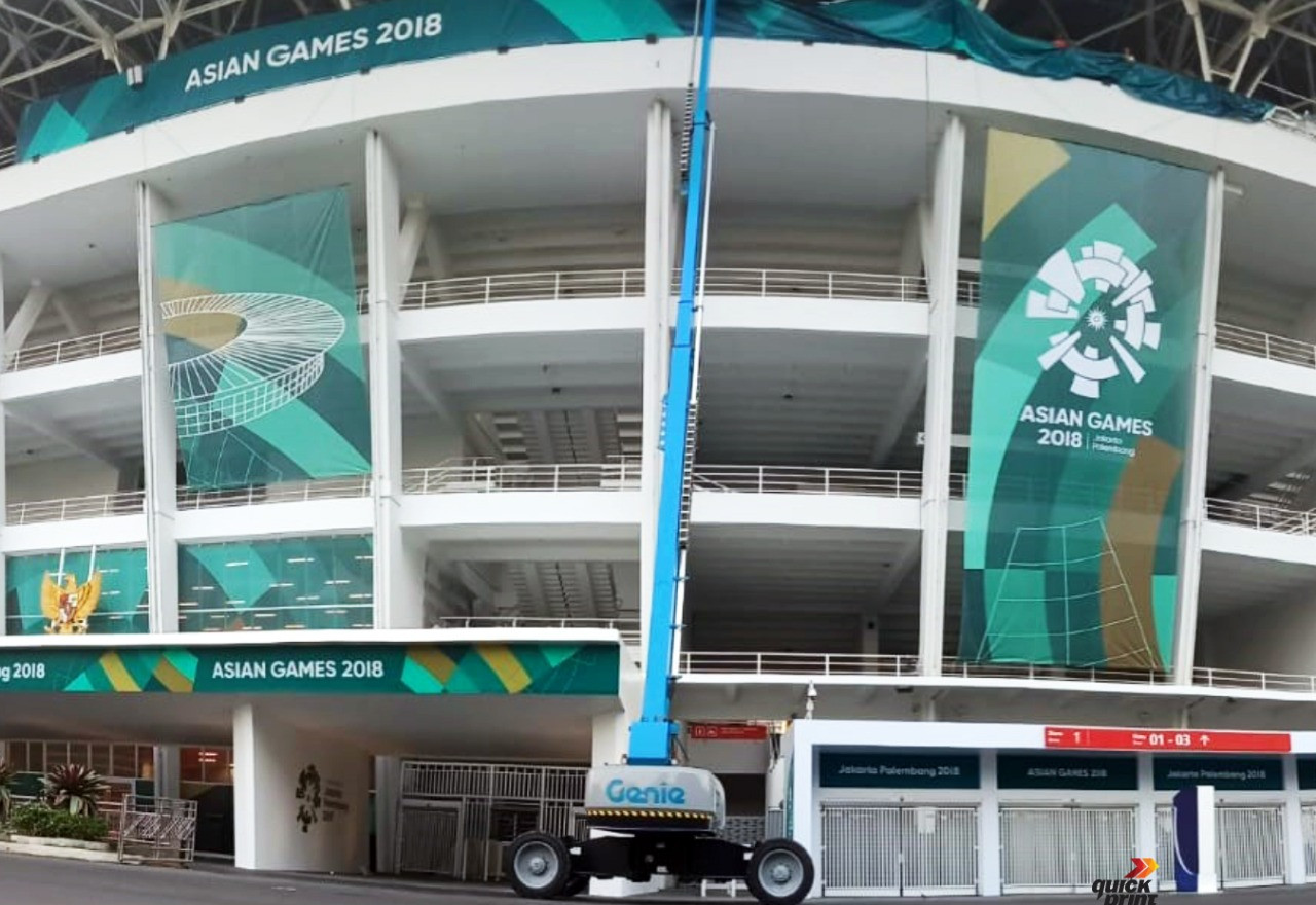 Asian Games 2018 - GBK Beautification