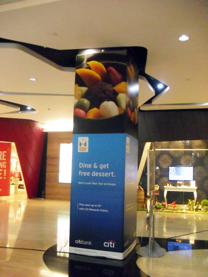 Pillar Branding - Citibank by Quickprint