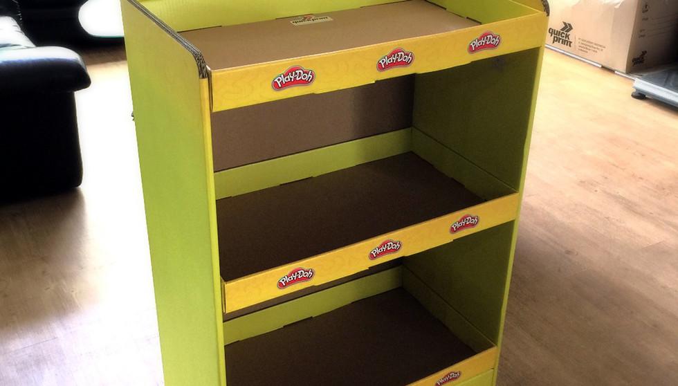 Cardboard FSDU - Play-Doh