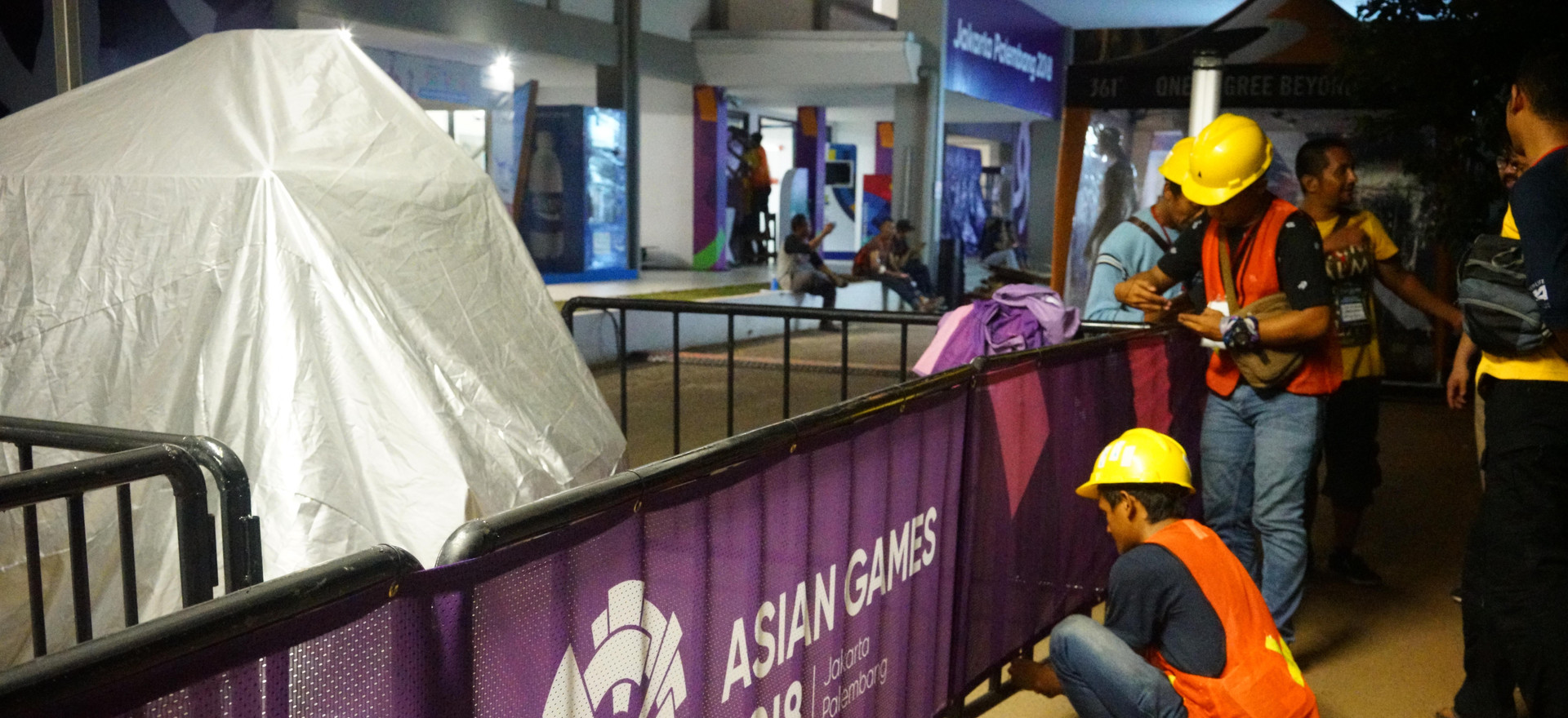 Asian Games 2018 - GBK Beautification - Entrance Door