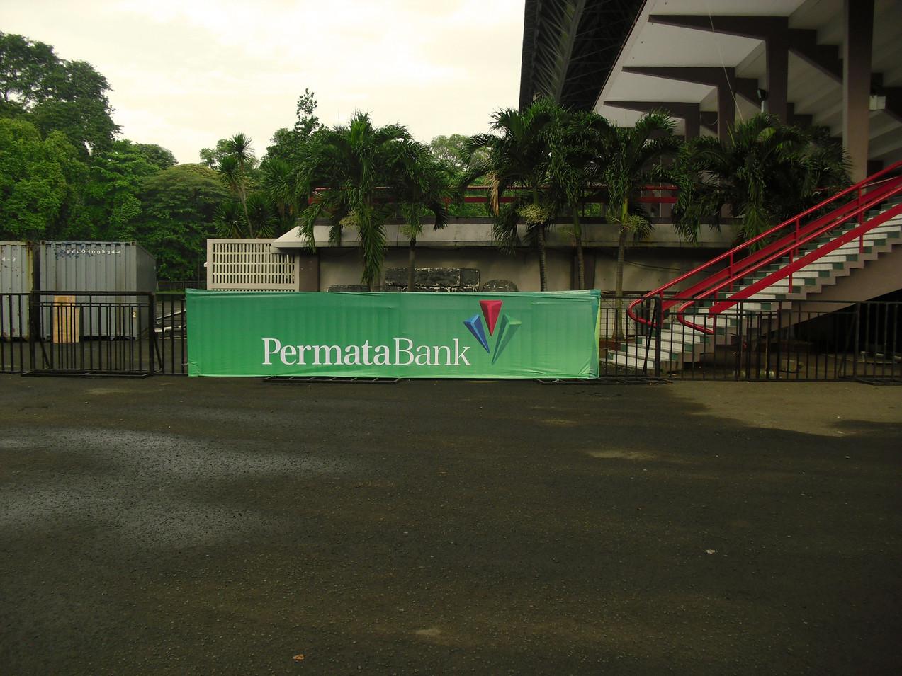 Gate Banner - Permata Bank by Quickprint