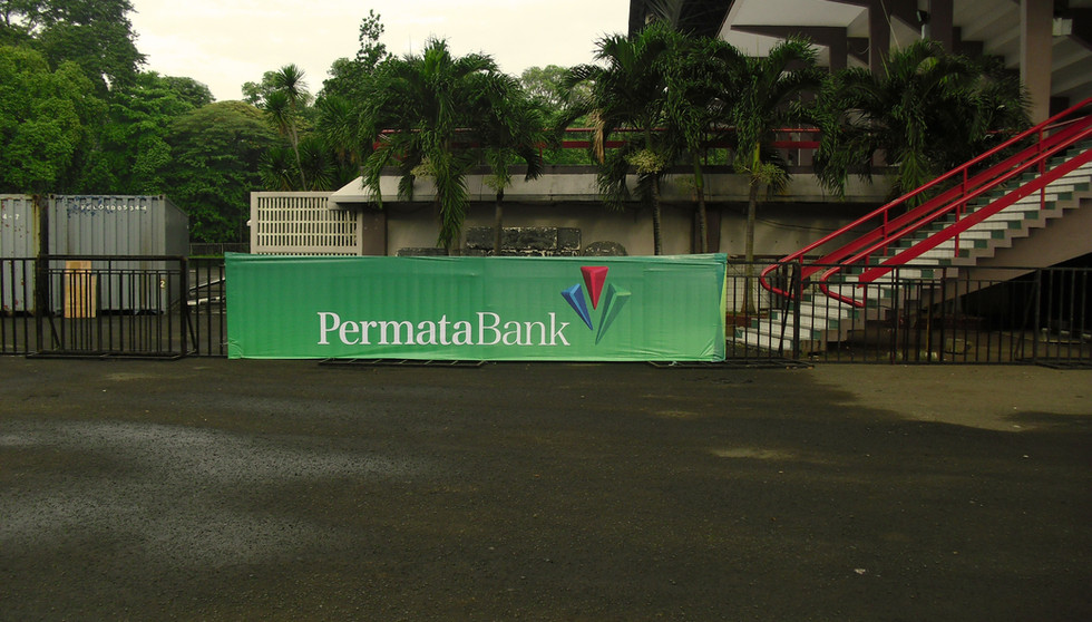 Street Branding - Permata Bank