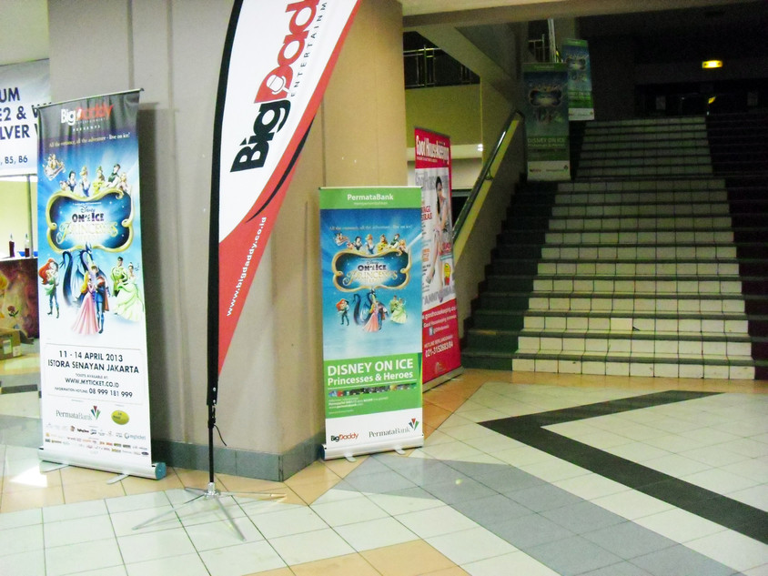 Roll Up Banner - Permata Bank by Quickprint