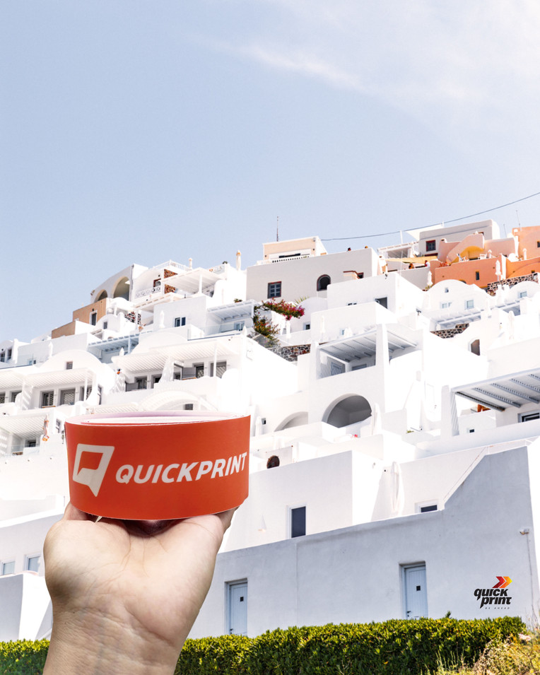 Quickprint Branding Sticker