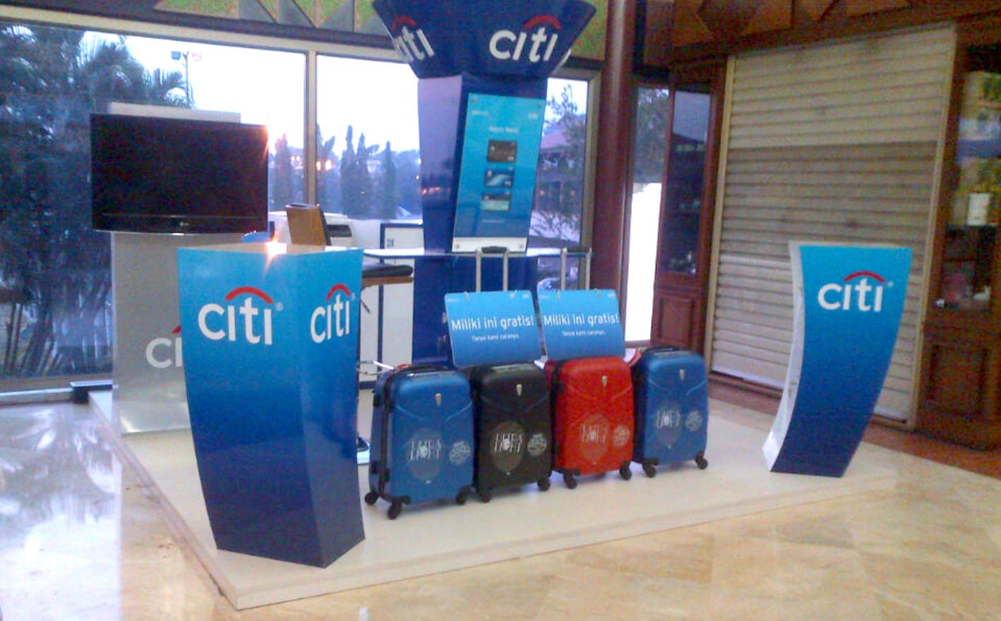 Citi Bank Booth