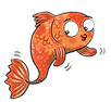 Stanley the Goldfish illustration