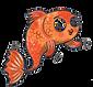 Cedric the Goldfish illustration
