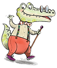 Albie the Alligator illustration