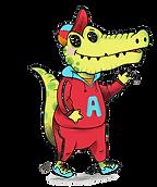 Alfie The Alligator illustration