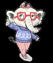Nellie the Elephant illustration